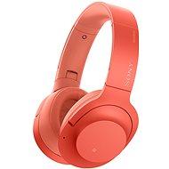 Sony Hi-Res WH-H900N červené - Slúchadlá s mikrofónom