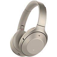 Sony Hi-Res WH-1000XM2 béžové - Slúchadlá s mikrofónom