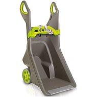 Keter REALBARROW 100 L sivý/zelený - Vozík