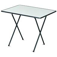 ROJAPLAST Stôl 60×80 camping SEVELIT antracit/biely - Záhradný stôl