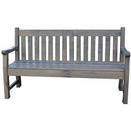ROJAPLAST Lavica LONDON sivá - Záhradná lavica