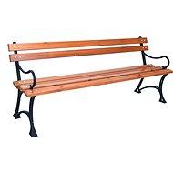 ROJAPLAST Parková lavica s opierkami - Záhradná lavica