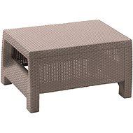 ALLIBERT Stôl CORFU cappucino - Záhradný stôl