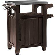 KETER UNITY 105 L hnedá multifunkčný úložný stôl - Záhradný stôl