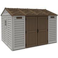 DURAMAX Domček Apex 10.5 × 8 - Záhradný domček