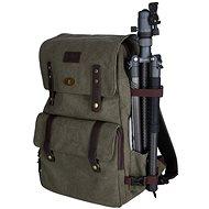 """Rollei Vintage Camera backpack 13"""" zelený - Fotobatoh"""
