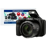 Rollei Powerflex 350 čierny + Alza Foto Starter Kit - Digitálny fotoaparát