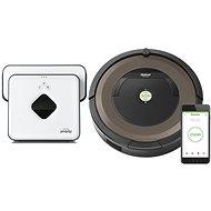 Roomba 896 + Braava 390t - Robotický vysávač
