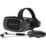RETRAK Utopia 360° VR + ovládač + slúchadlá - Okuliare na virtuálnu realitu