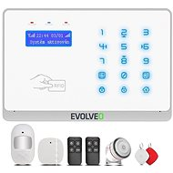 EVOLVEO Salvarix – bezdrôtový WiFi a GSM alarm s čítačkou RFID