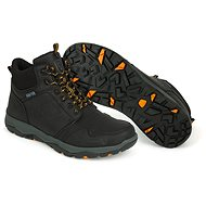 FOX Collection Black&Orange Mid Boot - Topánky