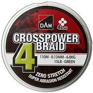 DAM Crosspower 4-Braid 150 m Green - Šnúra
