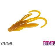 Delphin BOMB! Nympha 2,5 cm Yantar 10 ks - Gumová nástraha