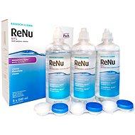 ReNu MPS Sensitive Eyes 3× 240 ml - Roztok na kontaktné šošovky