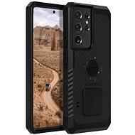 Kryt na mobil Rokform Kryt Rugged pre Samsung Galaxy S21 Ultra, čierny - Kryt na mobil