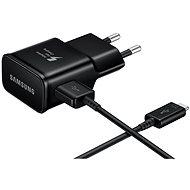 Samsung EP-TA20EW USB-C čierna - Nabíjačka