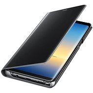 Samsung EF-ZN950C Cear View Cover pre Galaxy Note8 čierne - Puzdro na mobil