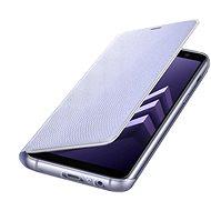 Samsung Neon Flip Cover Galaxy A8 (2018) EF-FA530P Violett