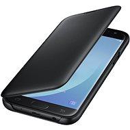 Samsung Galaxy J6 Wallet Cover čierne - Puzdro na mobil