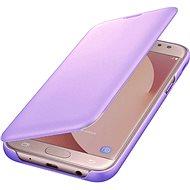 Samsung Galaxy J6 Wallet Cover levanduľové