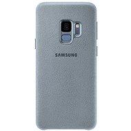 Samsung Galaxy S9+ Alcantara Cover mint - Kryt na mobil