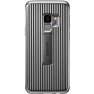 Samsung Galaxy S9 Protective Standing Cover strieborný - Kryt na mobil