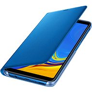 Samsung Galaxy A7 2018 Flip Wallet Cover Blue - Puzdro na mobil 4ace11995fe