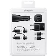 Samsung Charger Pack Čierna - Sada