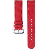 Samsung Kožený remienok Braloba Essence Galaxy Watch Active 2 20 mm červený - Remienok