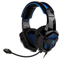 Sades B-Power čierna/modrá - Herné slúchadlá