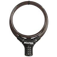 MasterLock 8229EURDPRO Oceľové kombinačné lanko na bicykel – 0,9 m