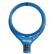 MasterLock 8229EURDPROBLU Oceľové kombinačné lanko na bicykel – 0,9 m