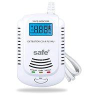 Kombinovaný detektor CO, horľavých a výbušných plynov SAFE 808COM - Detektor plynu