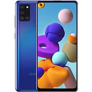 Samsung Galaxy A21s 64 GB modrá