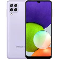 Samsung Galaxy A22 128 GB fialový - Mobilný telefón