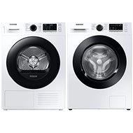 SAMSUNG WW80T4040CE/LE + SAMSUNG DV80TA220AE/LE - Washer Dryer Set