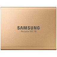 Samsung SSD T5 500GB Zlatý - Externý disk