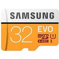 Samsung microSDHC 32 GB EVO UHS-I U1 + SD adaptér - Pamäťová karta