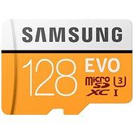 Samsung MicroSDXC 128 GB EVO UHS-I U3 + SD adaptér - Pamäťová karta