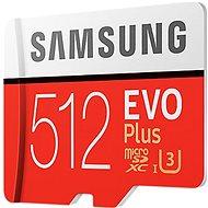 Samsung MicroSDXC 512GB EVO Plus UHS-I U3 + SD adaptér - Pamäťová karta