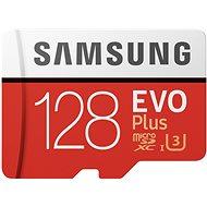 Samsung MicroSDXC 128 GB EVO Plus UHS-I U3 + SD adaptér - Pamäťová karta