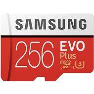 Samsung MicroSDXC 256 GB EVO Plus UHS-I U3 + SD adaptér - Pamäťová karta