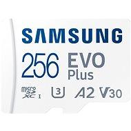Samsung MicroSDXC 256 GB EVO Plus + SD adaptér