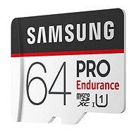 Samsung microSDXC 64GB PRO Endurance + SD adaptér - Pamäťová karta