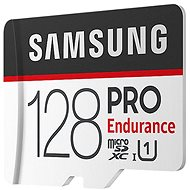 Samsung micro SDXC 128GB PRO Endurance + SD adaptér