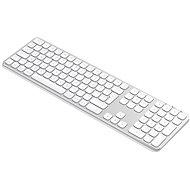 Satechi Aluminum Bluetooth Wireless Keyboard for Mac – Silver – US