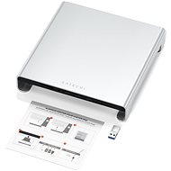 Satechi Aluminum Monitor Stand Hub for iMac – Silver - Podstavec pod monitor