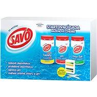 SAVO Start pack bazénová chémia - Bazénová chémia