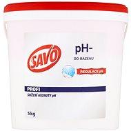 SAVO Do bazénu pH- zníženie hodnoty pH 5 kg - Bazénová chémia