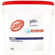 SAVO Do bazénu pH+ zvýšenie hodnoty pH 5 kg - Bazénová chémia